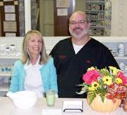 Cornerstone Pharmacy Bella Vista owners, Jim and Lorri Graham